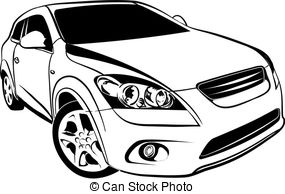 Car Vector Clipart EPS Images