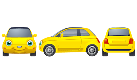 Free Free Yellow Cars Clipart and Vector Graphics