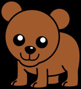 Baby Cartoon Bear Clip Art at Clker