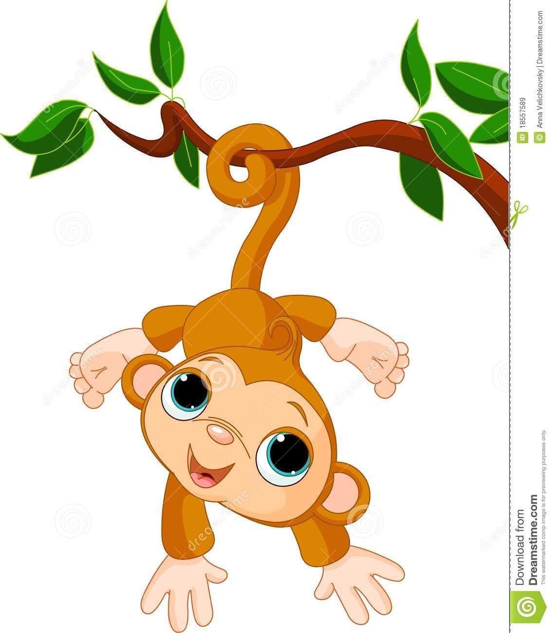 Cartoon monkey clipart pinterest. Girl clip art in