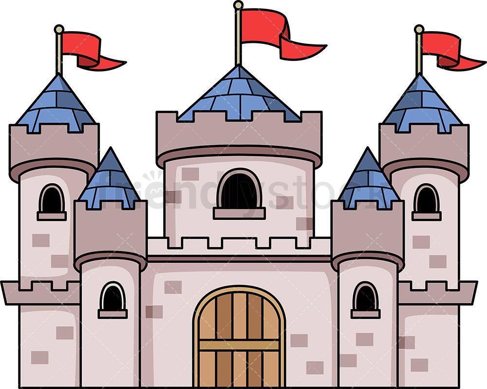 Medieval castle kingdom.