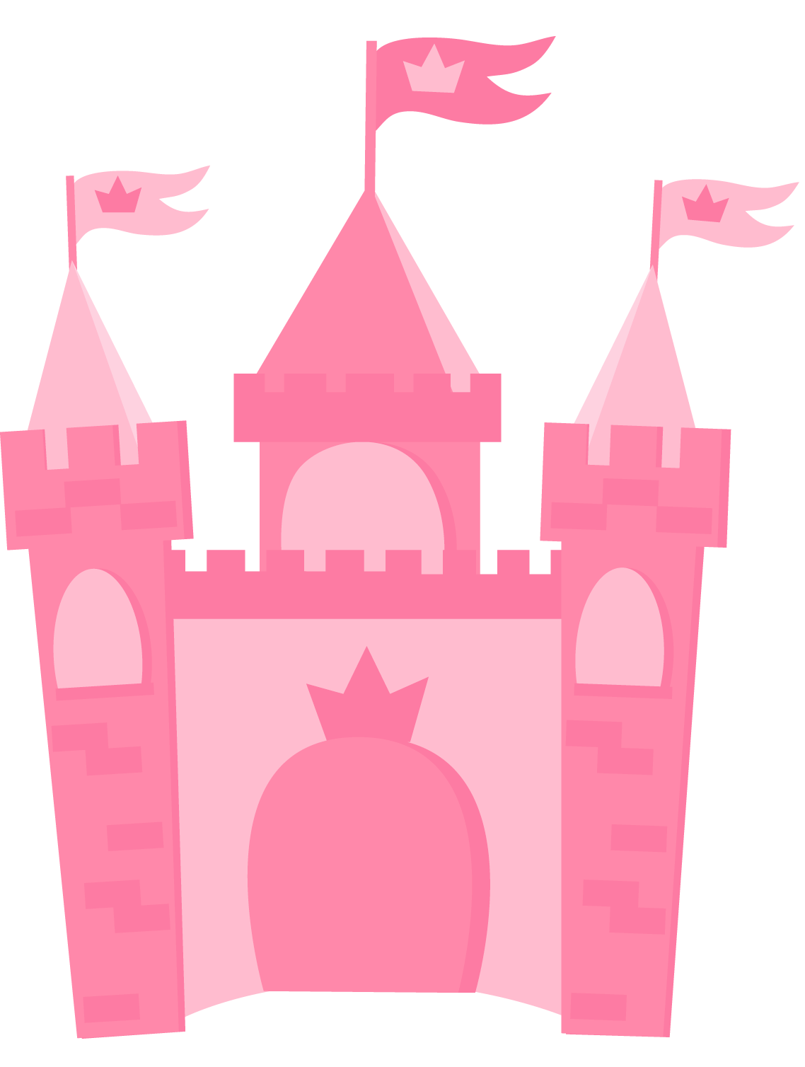 Castle clipart cute.