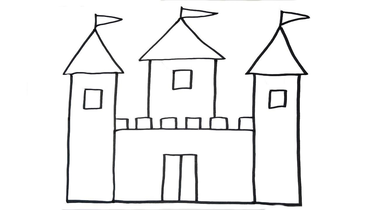 Castle clipart easy, Castle easy Transparent FREE for