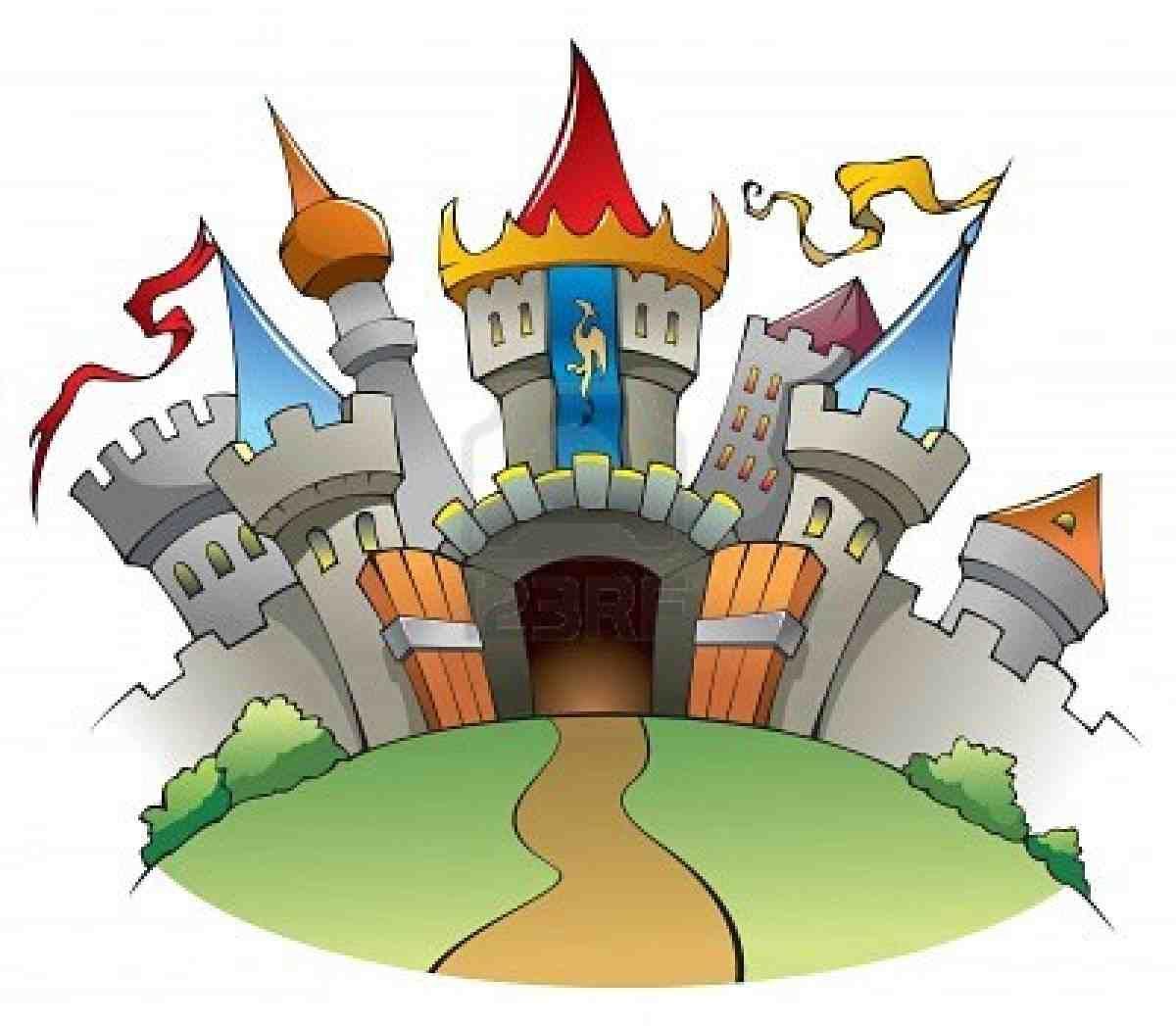 castle clipart fairytale