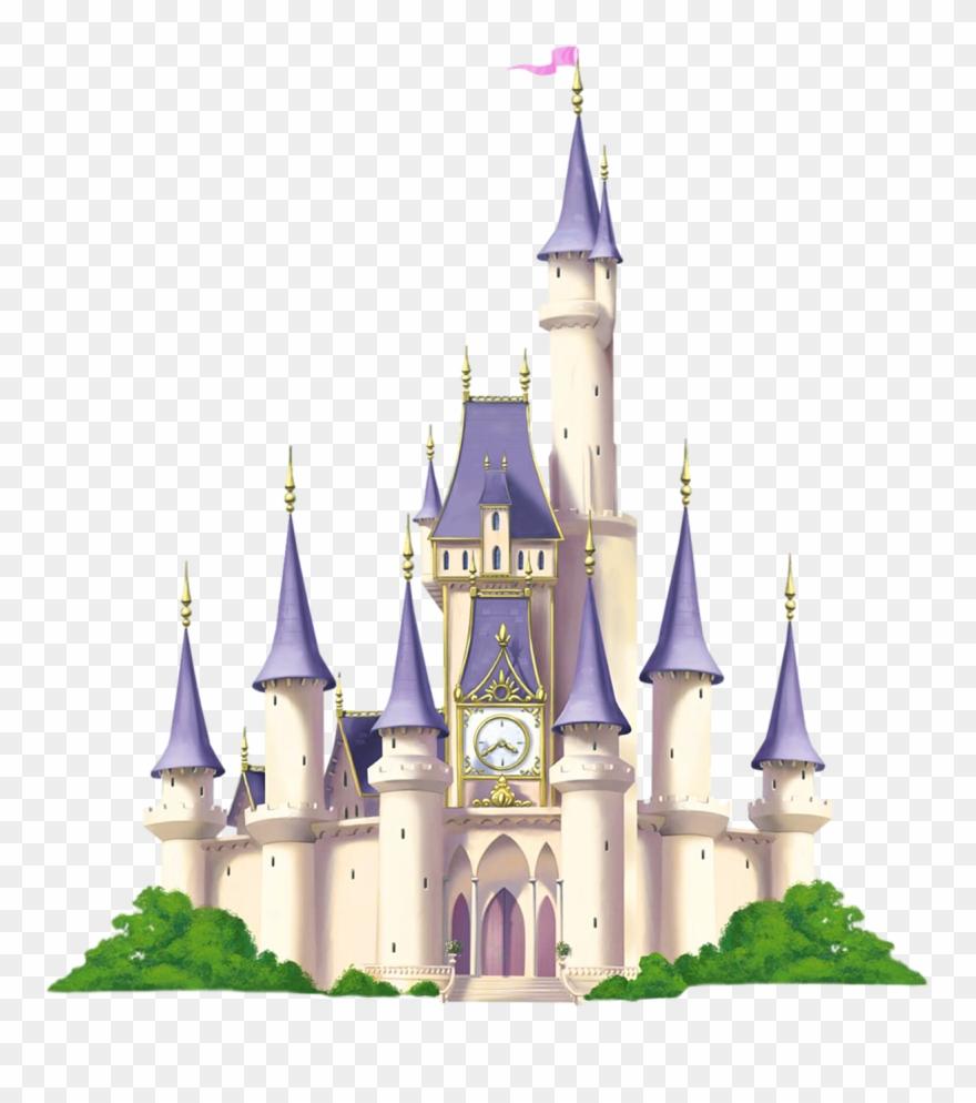 Castle clipart transparent. Cinderella disney