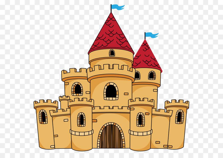 Castle clipart transparent. Cartoon png free