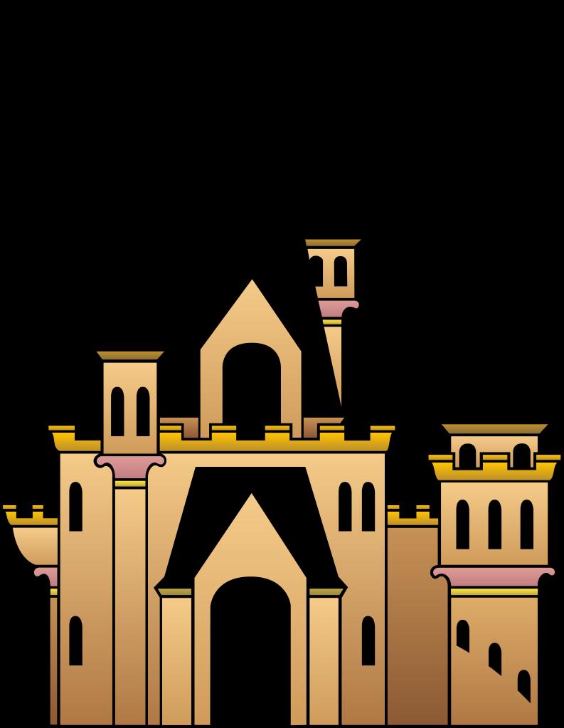 Castle clipart transparent. Background clip art library