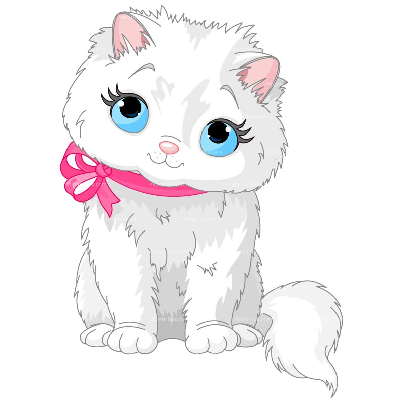 Baby cat clipart