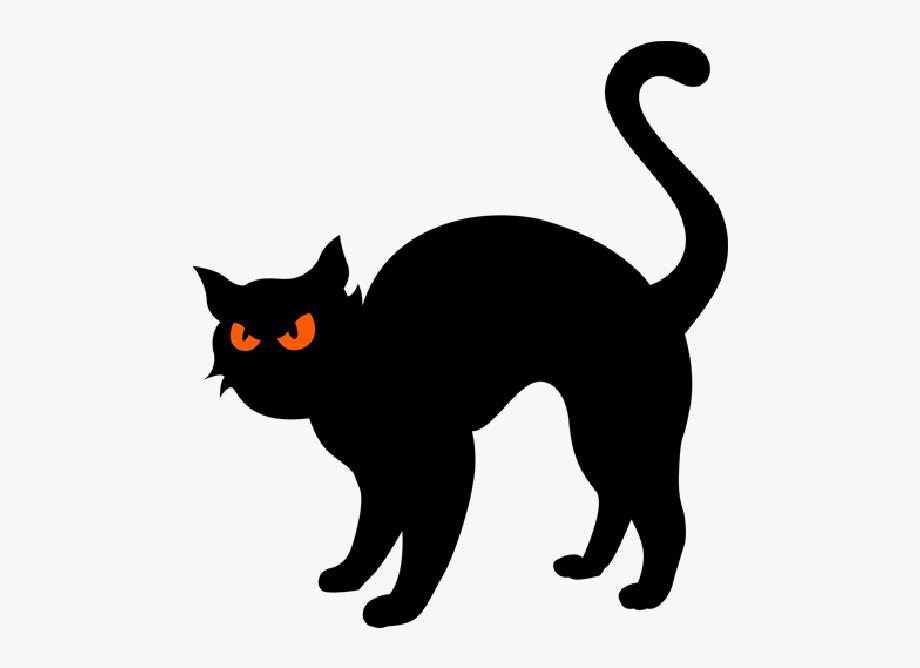 Black Halloween Black Cat Cartoon Images Cartoon Clipart