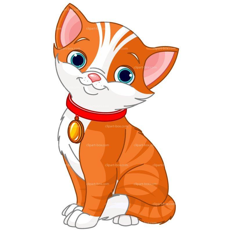CLIPART ORANGE CAT