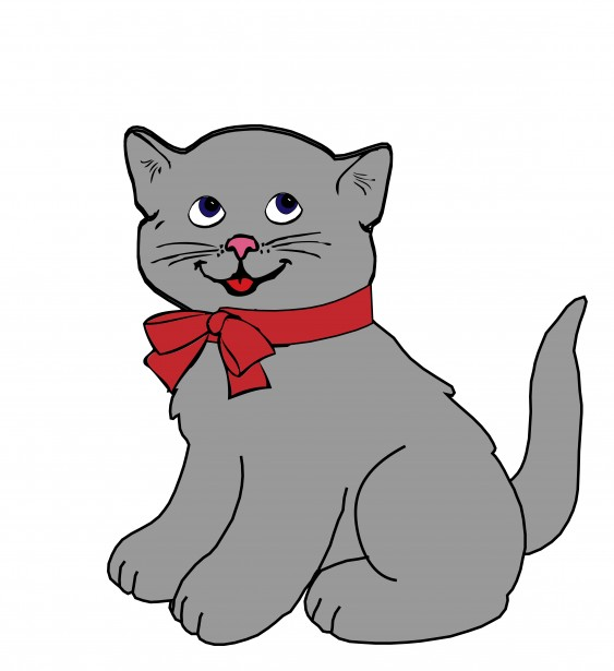 Kitten Cat Clipart Free Stock Photo