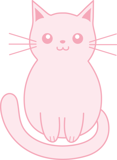 Free Pink Cat Cliparts, Download Free Clip Art, Free Clip