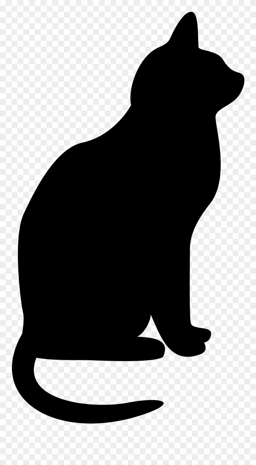 Cats Clipart Silhouette Clip Art Transparent Library