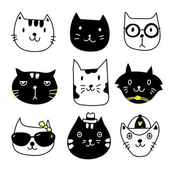 Cat vectors photos.