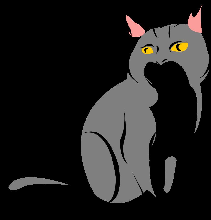 Free Free Cat Vector, Download Free Clip Art, Free Clip Art