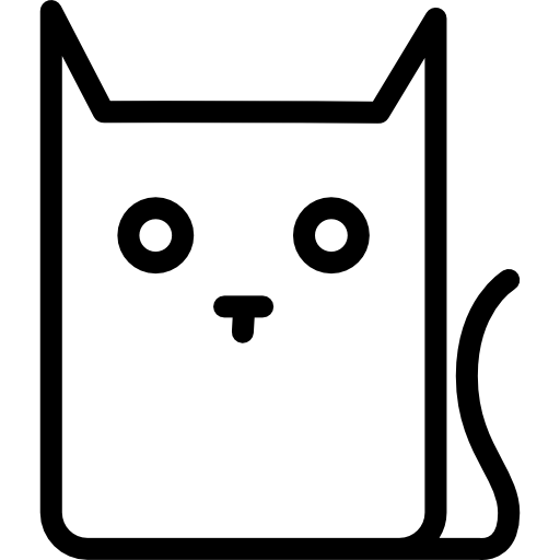 Collection cartoon cat.