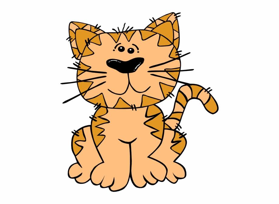 Cute cartoon cat.