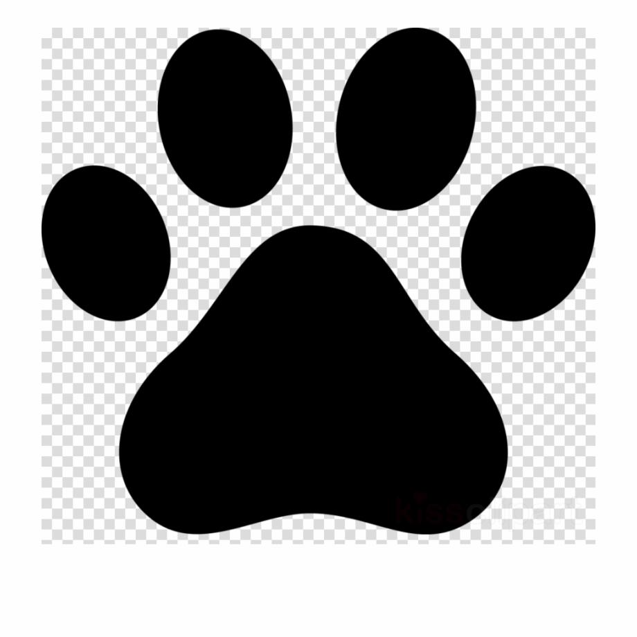 Dog paw print.