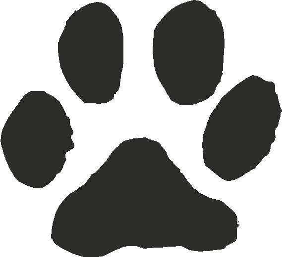 Cat paw print clipart vector. Cat paw print clipart vector. Free dog download clip