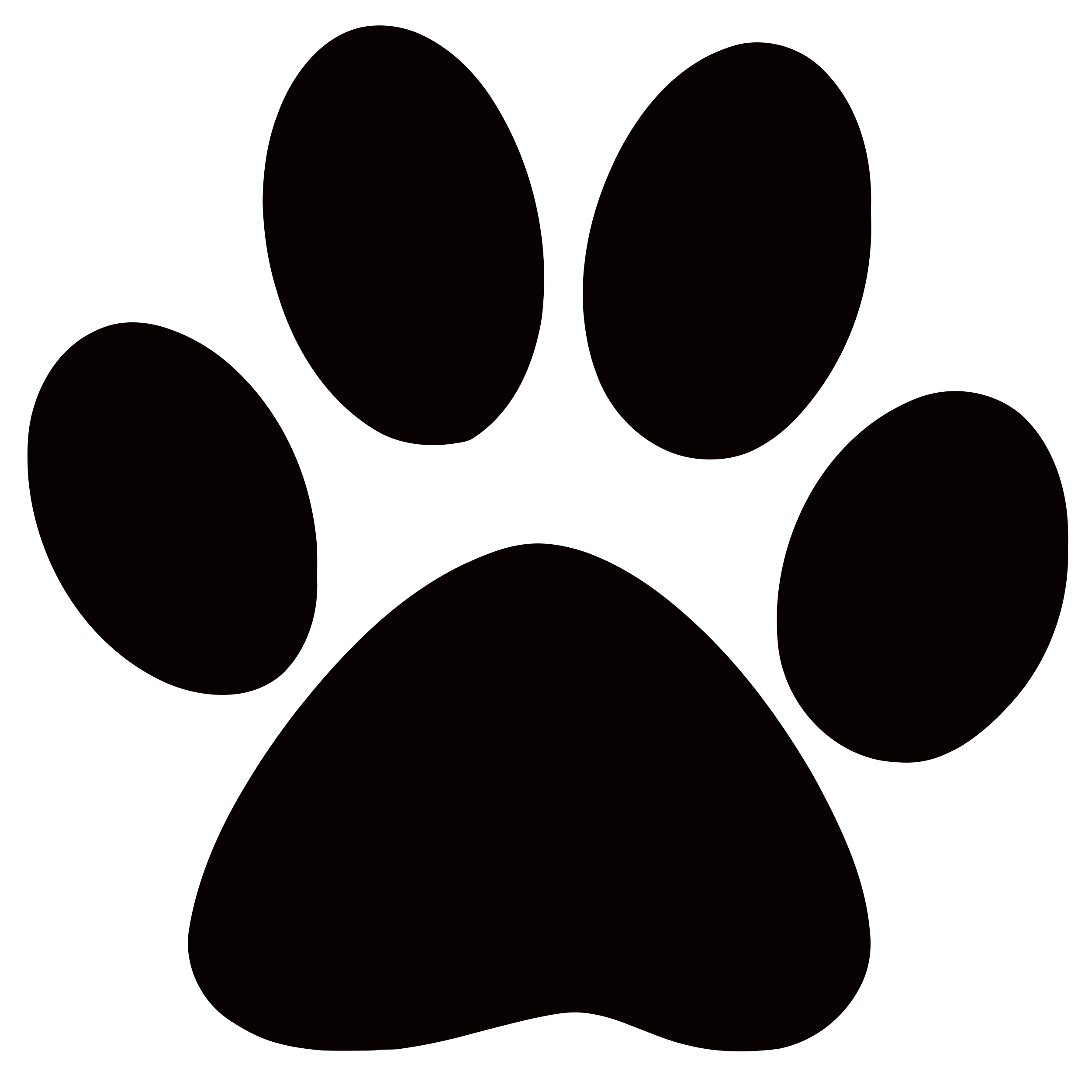 Cat paws clipart. Panther paw print clip