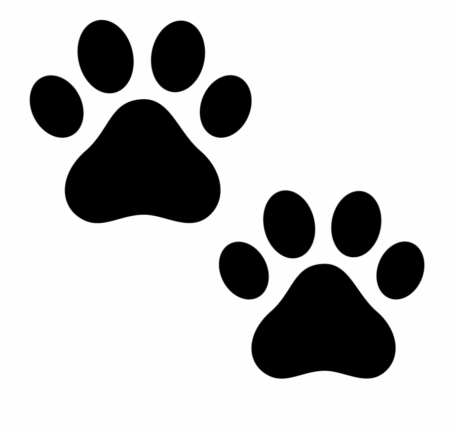 Cat paws clipart. Clipartall puppy dog paw