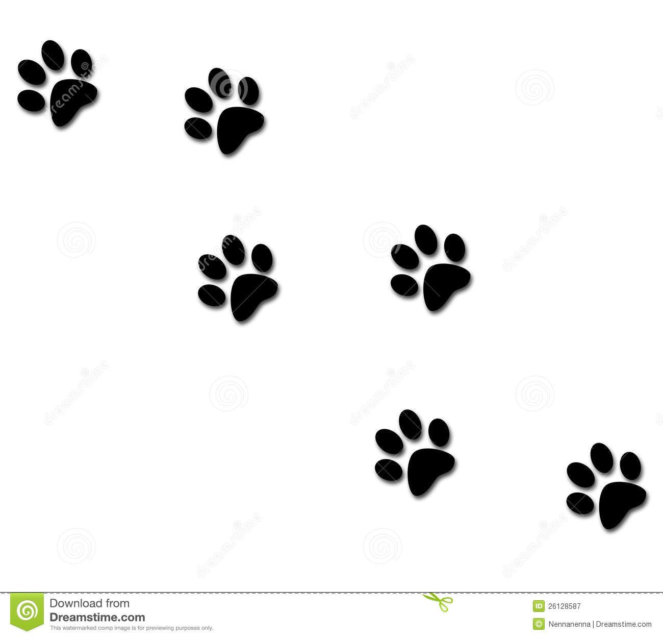 Cat paws clipart. Free clip art claws