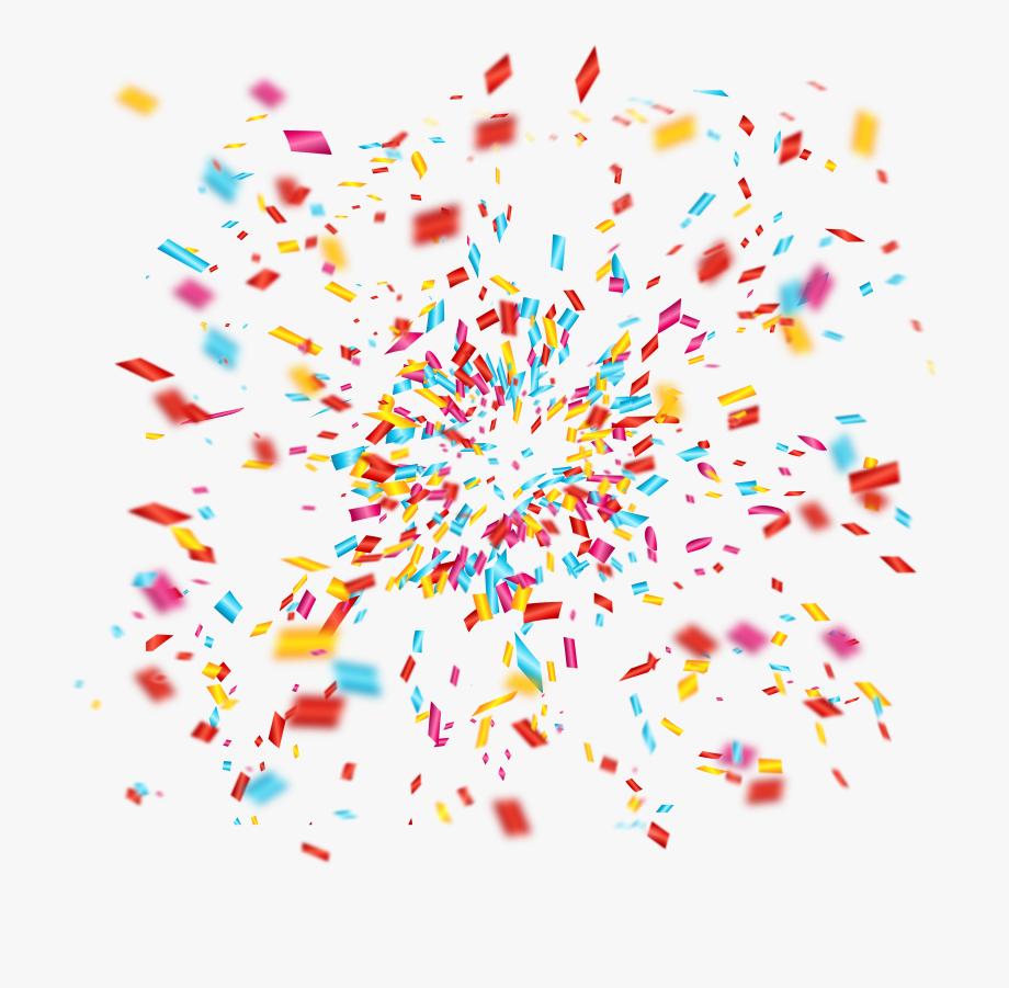 Confetti clip art.
