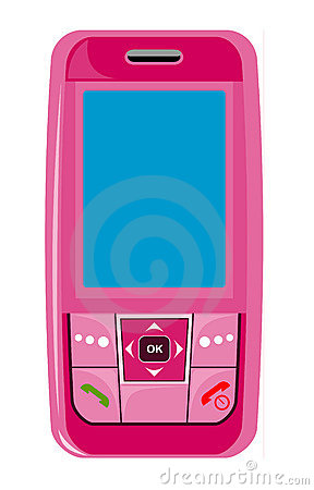 Cellphone clipart feature phone, Cellphone feature phone