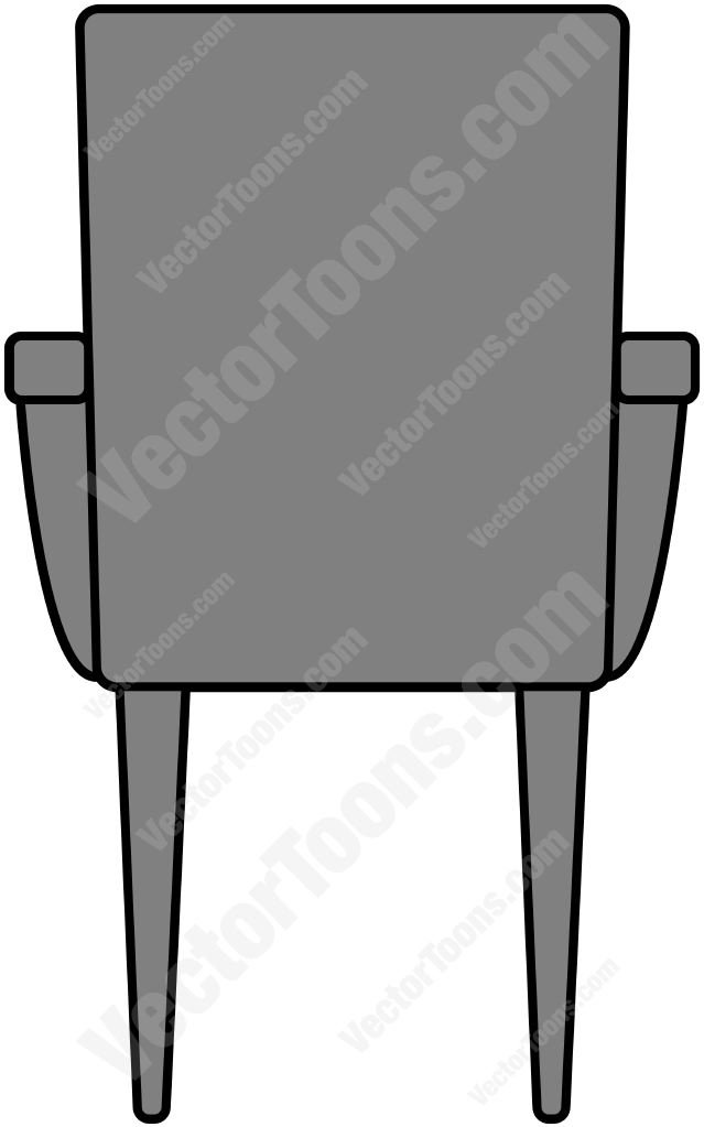 Back chair clipart.