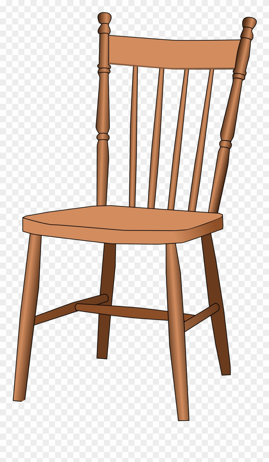 clipart of furniture wood