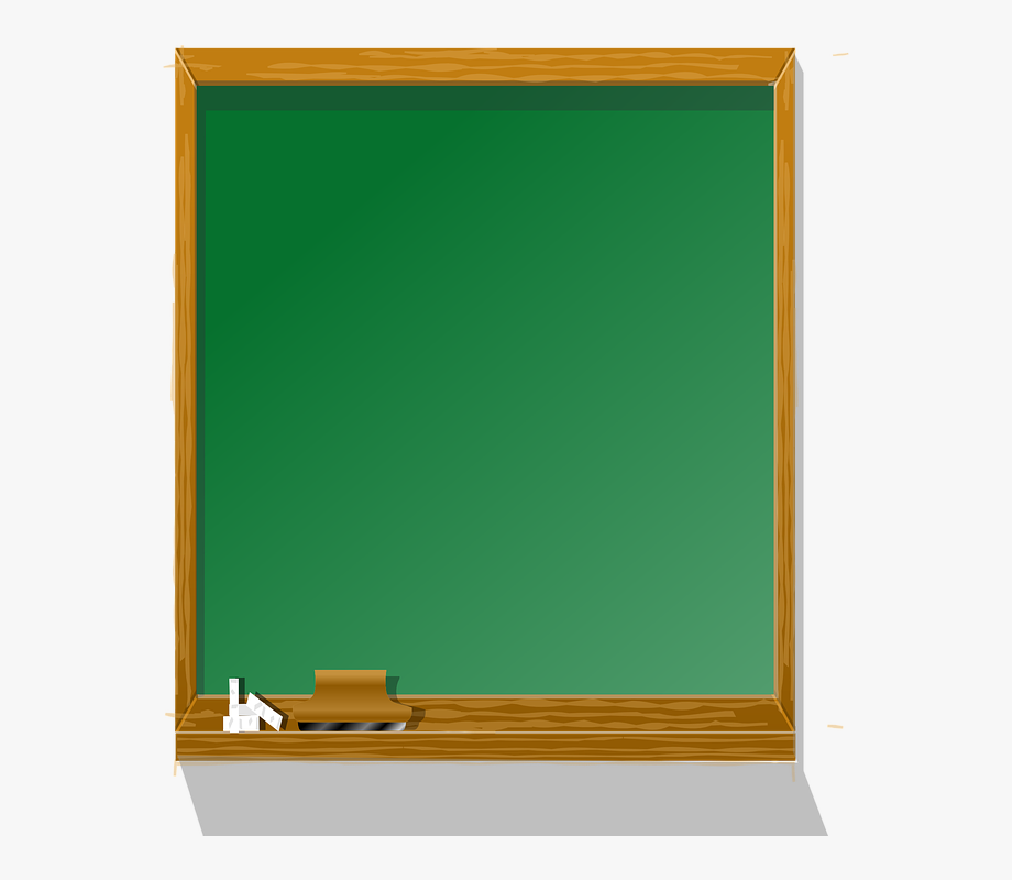 chalkboard clipart cartoon