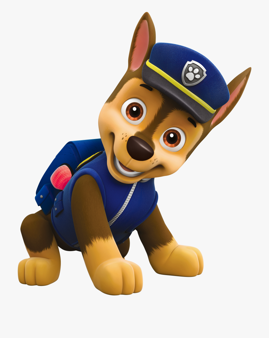 Paw patrol characters.