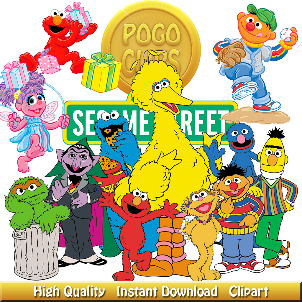 Character clipart sesame street. Character clipart sesame street. High quality characters