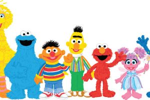 Character clipart sesame street. Characters station