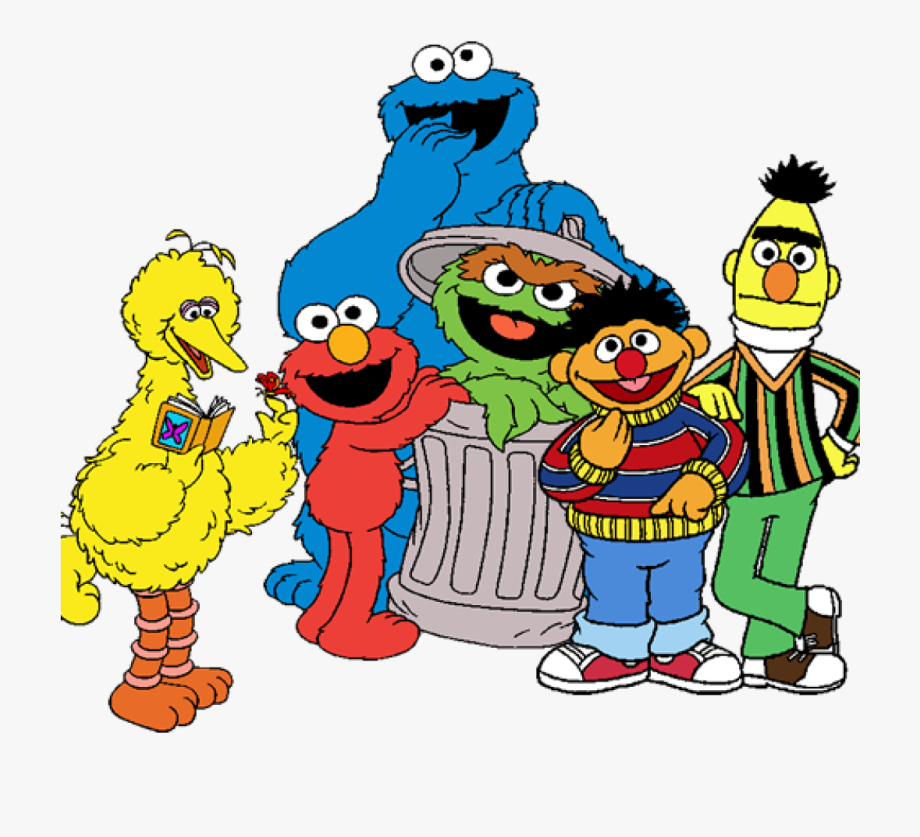 Character clipart sesame street. Pieces