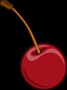 Cherry clipart look.