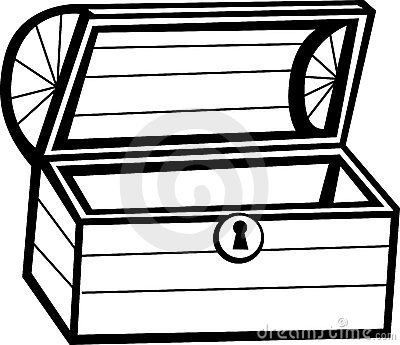 chest clipart empty