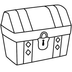 chest clipart simple