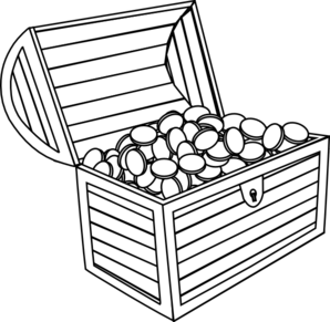 chest clipart outline