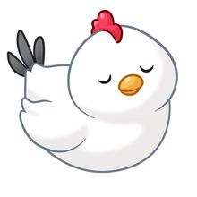 Chickens clipart chibi.