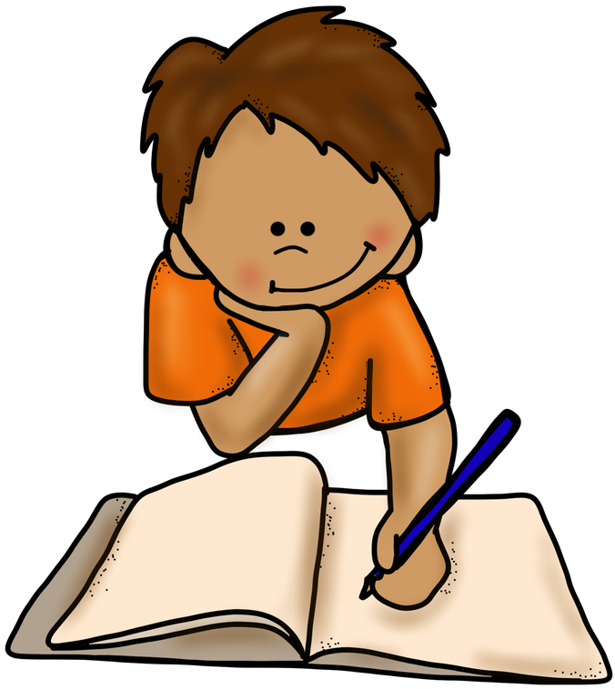 Children writing clipart independent. Handwriting animated gif