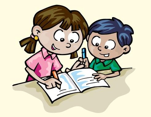 Children writing clipart independent. And creative pratham books