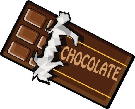Free chocolate bar.