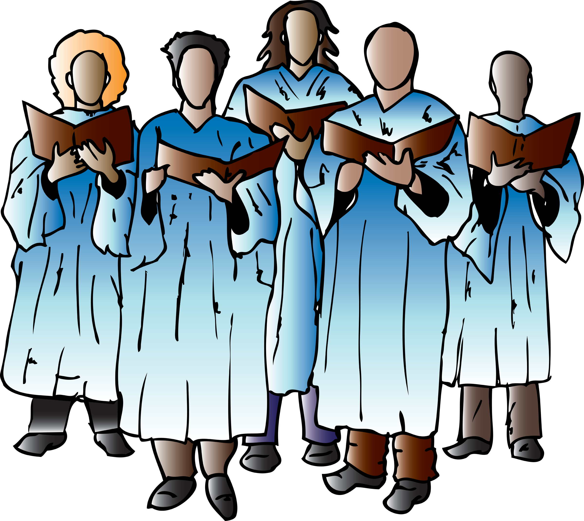 choir clipart male
