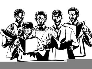 Choir clipart male. Choirs free images at