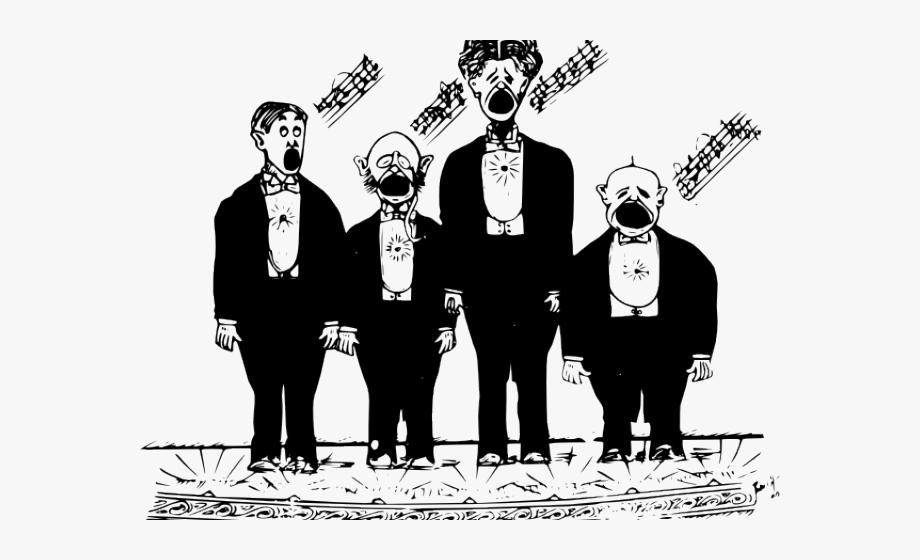 Choir clipart male. Singing men s clip