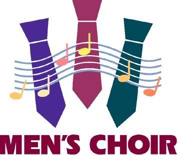 Male choir clipart.