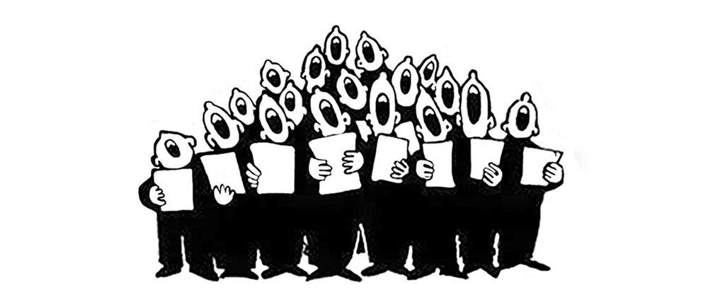 Choir clipart male. Arklow music arts
