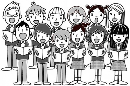 Show choir clipart.
