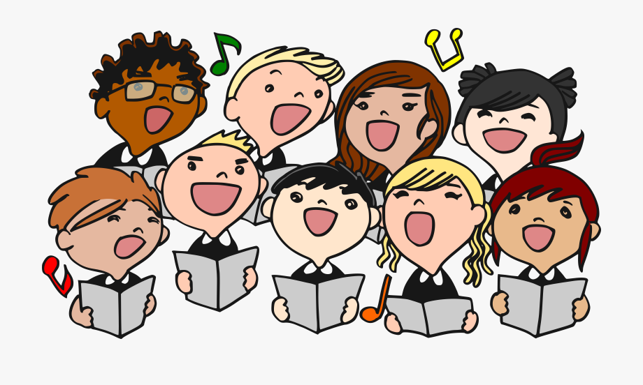 Singer clipart song.